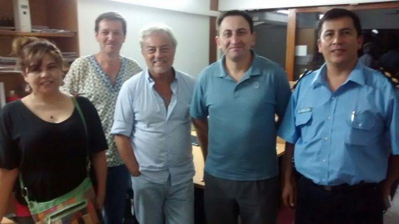 El Defensor del Pueblo particip� de reuniones de trabajo con referentes de las �reas de salud y seguridad de la zona oeste de la ciudad
