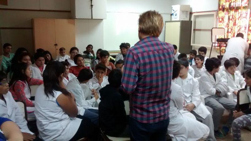 Se dio inicio al ciclo de capacitaciones en mediaci�n en escuelas de la ciudad